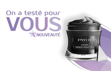 test masque magnétique uni skin payot