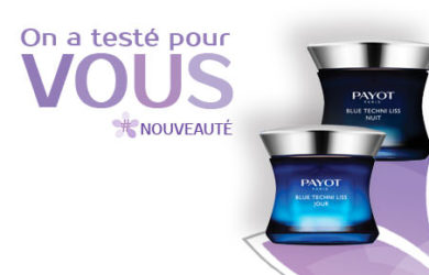 test blue techni liss de payot