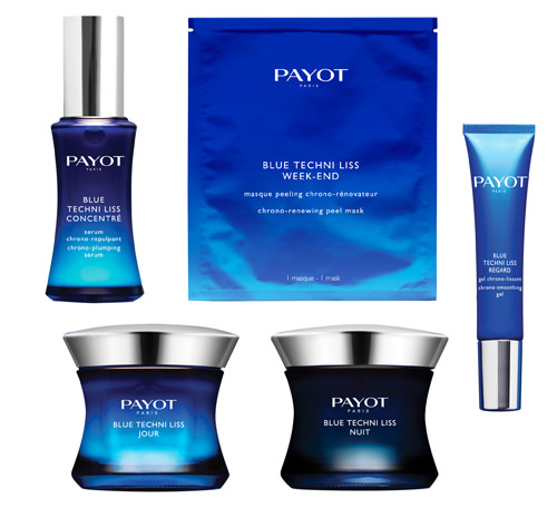 blue techni liss gamme soin payot