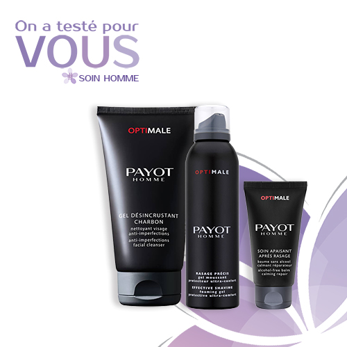 test routine rasage payot optimale