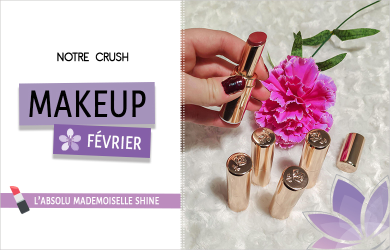 crush makeup l'absolu mademoiselle shine lancome