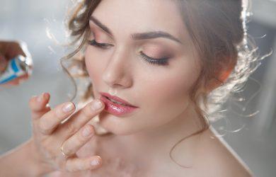 Maquillage de mariage smoky eyes cuivré