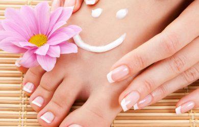 Pédicure et vernis à ongles pour pieds fun