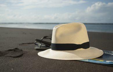 Chapeau Panama tendance pour la plage