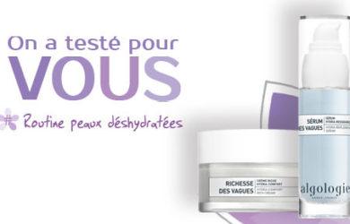 test creme riche hydra confort et serum hydra-ressourcant