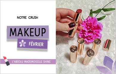 crush makeup fevrier mademoiselle shine
